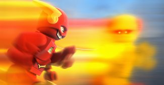 "LEGO DC Super Heroes: The Flash ""Time Loop"" Clip"