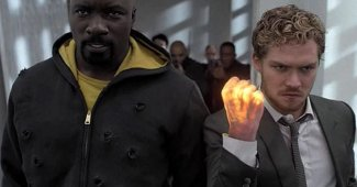First Look At Luke Cage & Iron Fist