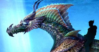 Aquaman Sea Dragon Concept Art