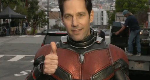 Ant-Man and the Wasp Wraps; New Look At Paul Rudd In Suit