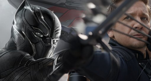 Black Panther & Hawkeye Suit Up For Avengers 4
