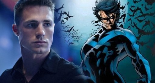 Colton Haynes Teases Nightwing