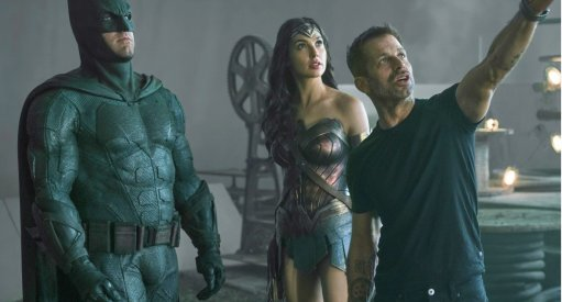 Cosplayers Suiting Up At Warner Bros. To Support Justice League Zack Snyder Cut