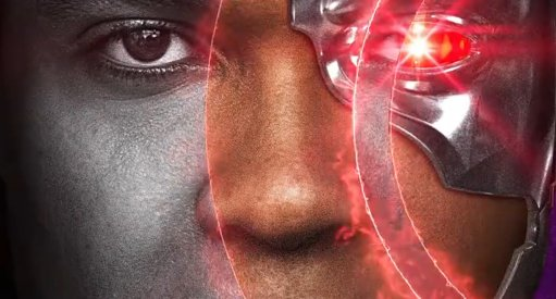 Justice League Cyborg Motion Poster