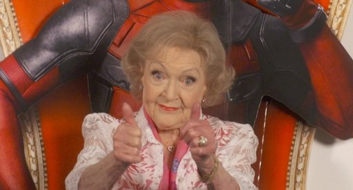 Deadpool and Ryan Reynolds Wish Happy Birthday To Betty White