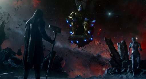 Read James Gunn's Thanos & Ronan Scene