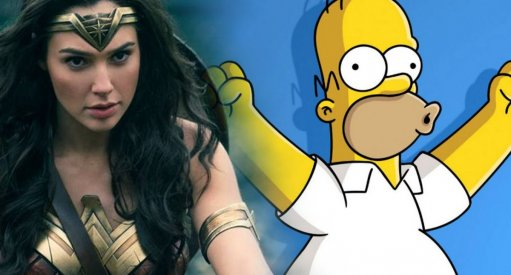 "Wonder Woman Gal Gadot Confirms ""The Simpsons"""