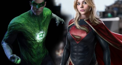 Green Lantern Supergirl Justice League