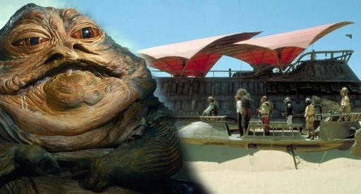Hasbro Reveals Epic Star Wars Jabba's Sail Barge; Announces HASLAB