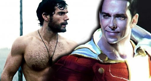 Henry Cavill Responds To Zachary Levi Muscles
