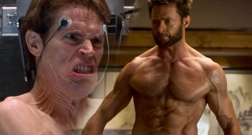 Hugh Jackman and Willem Dafoe Discuss Evolution of Superhero Films (Video)