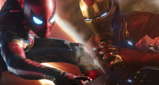 Iron Man Spider-Man Infinity War
