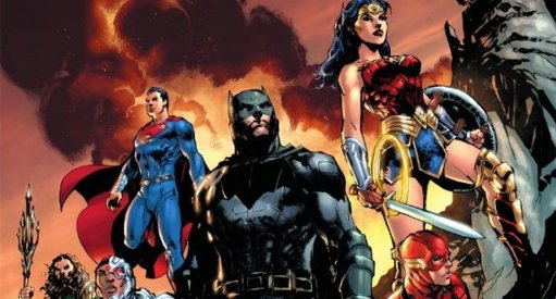 Jim Lee Reveals Justice League Blu-Ray Steelbook Artwork