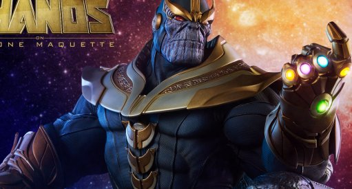 Jim Starlin Shows Off Thanos On Throne Infinity Gauntlet Maquette