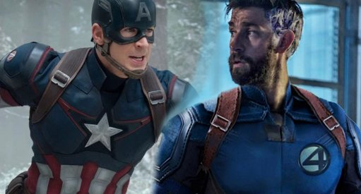 John Krasinski Reveals Captain America Chris Evans Reaction