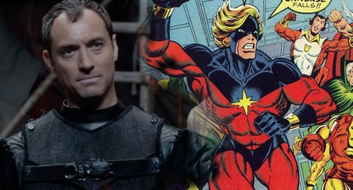 Captain Marvel: First Look At Jude Law As Mar-Vell