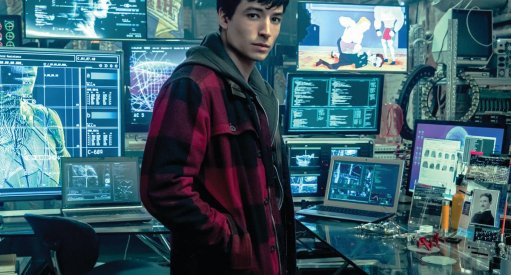 Justice League Ezra Miller The Flash Barry Allen