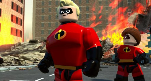 LEGO Incredibles Video Game Announced