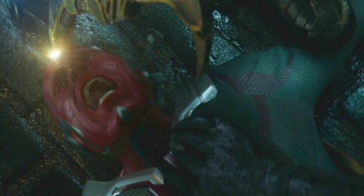 Avengers 4 BTS Image Of Paul Bettany As Vision