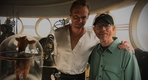 Star Wars Han Solo Ron Howard and Paul Bettany