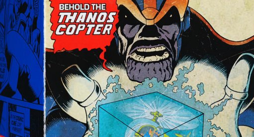 Thanos Copter Comic-Con