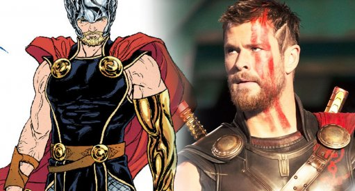 "Marvel Comics Redesigns Thor Ahead of ""Ragnarok"" Release"