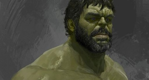 Thor: Ragnarok Hulk Concept Art Features Beards!