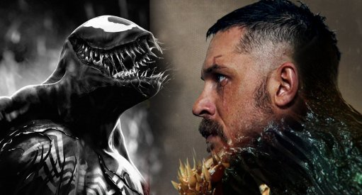 Tom Hardy Rides A Motorcycle In Venom Movie Set Images