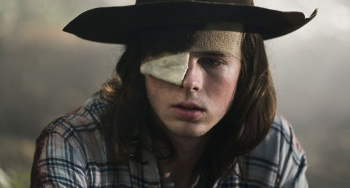 New Images For The Walking Dead Carl's Death Episode