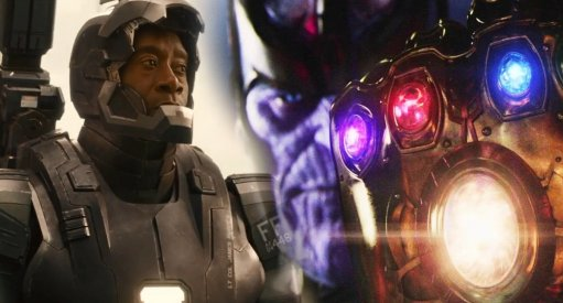 First Look At New War Machine In Avengers: Infinity War