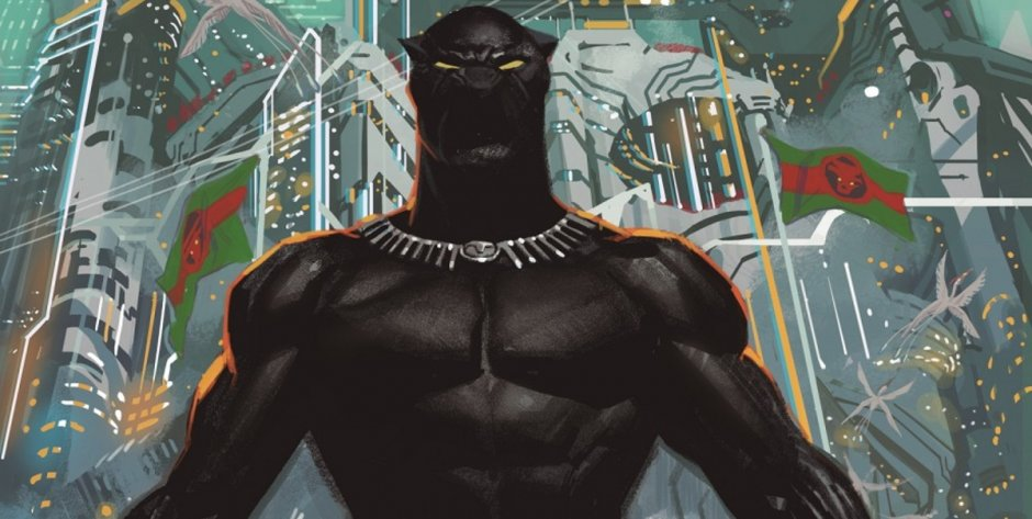 Marvel Comics Announces Black Panther #1