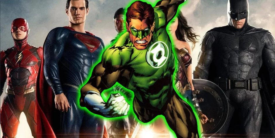Green Lantern Justice League Movie