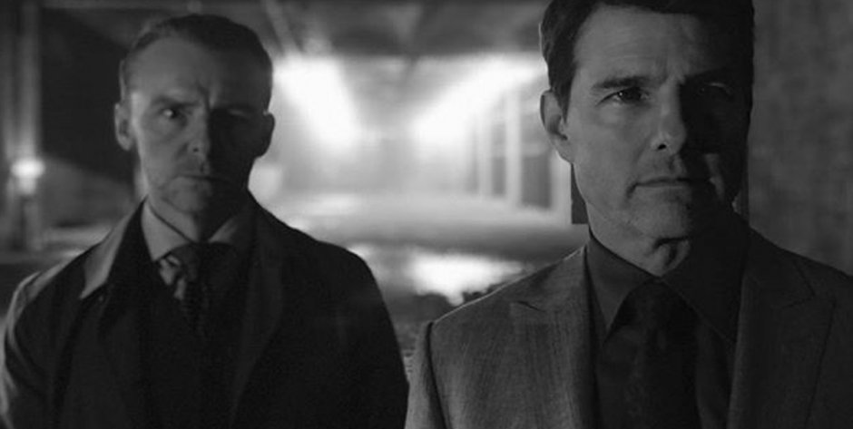 Mission Impossible 6 Images: Tom Cruise, Simon Pegg, Henry Cavill