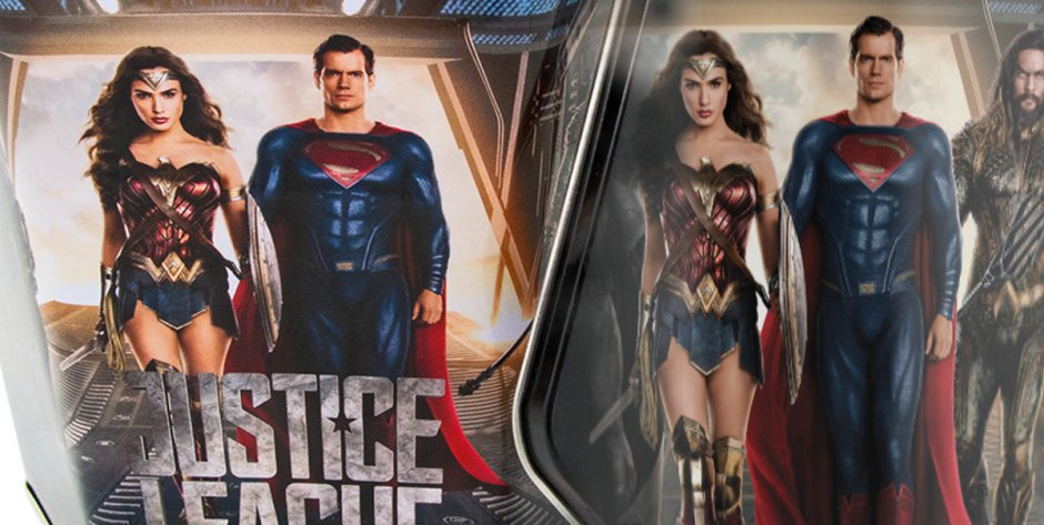 Justice League movie theater products
