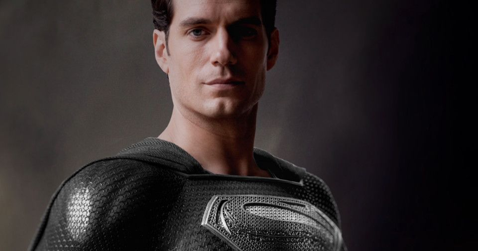 Henry Cavill In Black Superman Suit For 'Release The Snyder Cut' Revealed