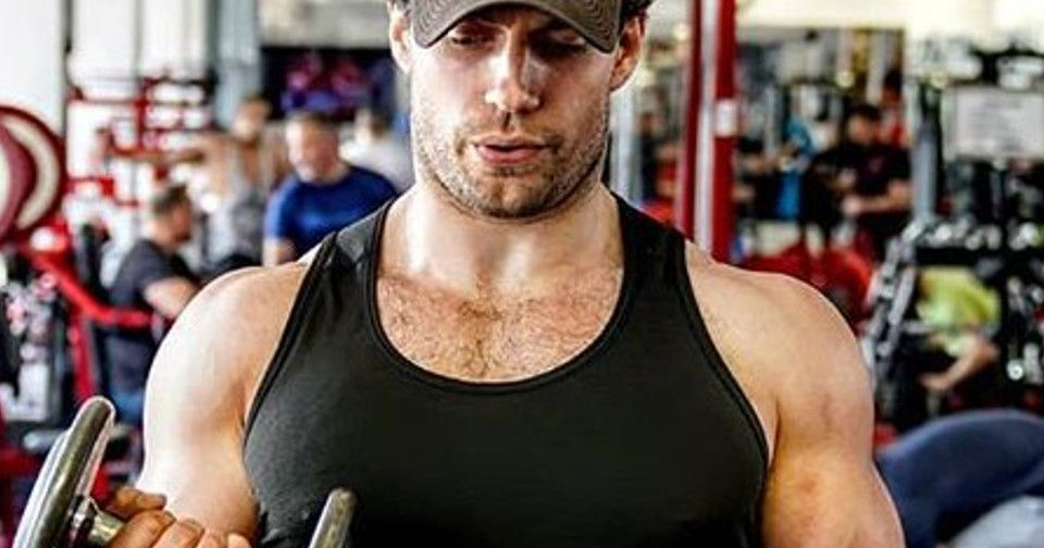 Henry Cavill Gets Photobombed By Captain America