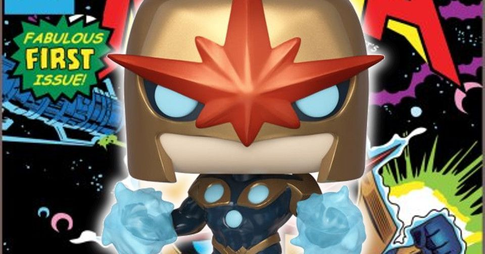 Richard Rider Nova Funko Pop Unleashed