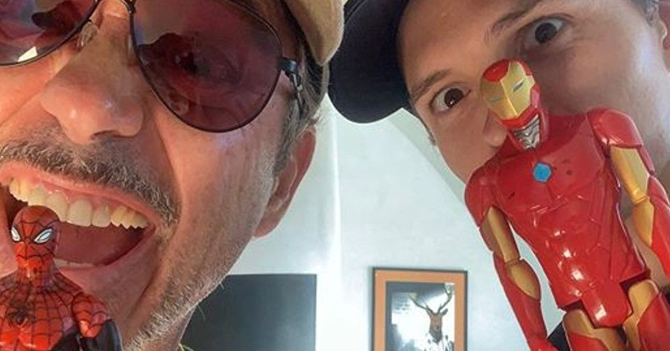 Tom Holland Teases Spider-Man Deal With Robert Downey Jr.