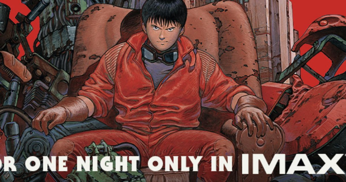 Akira Coming To Imax Poster Released Cosmic Book News