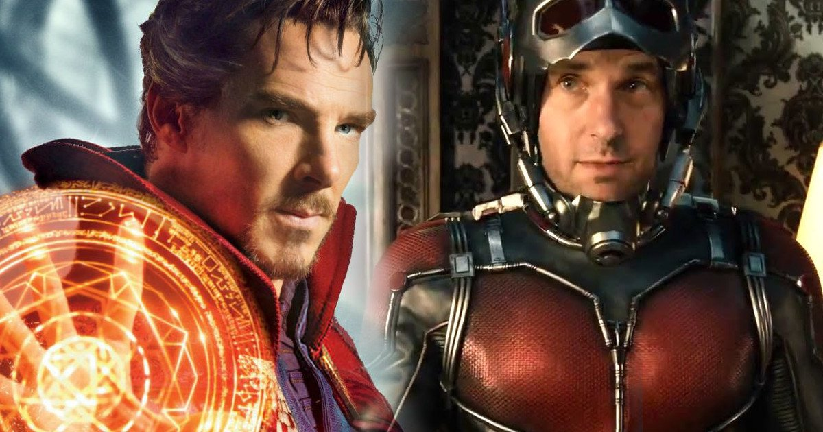 Paul Rudd Shares Ant-Man 2 Set Video With Doctor Strange