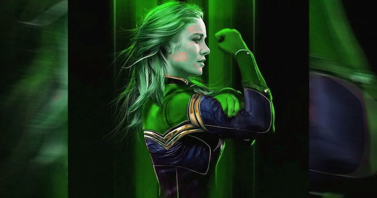 More Brie Larson Set Images As Captain Marvel