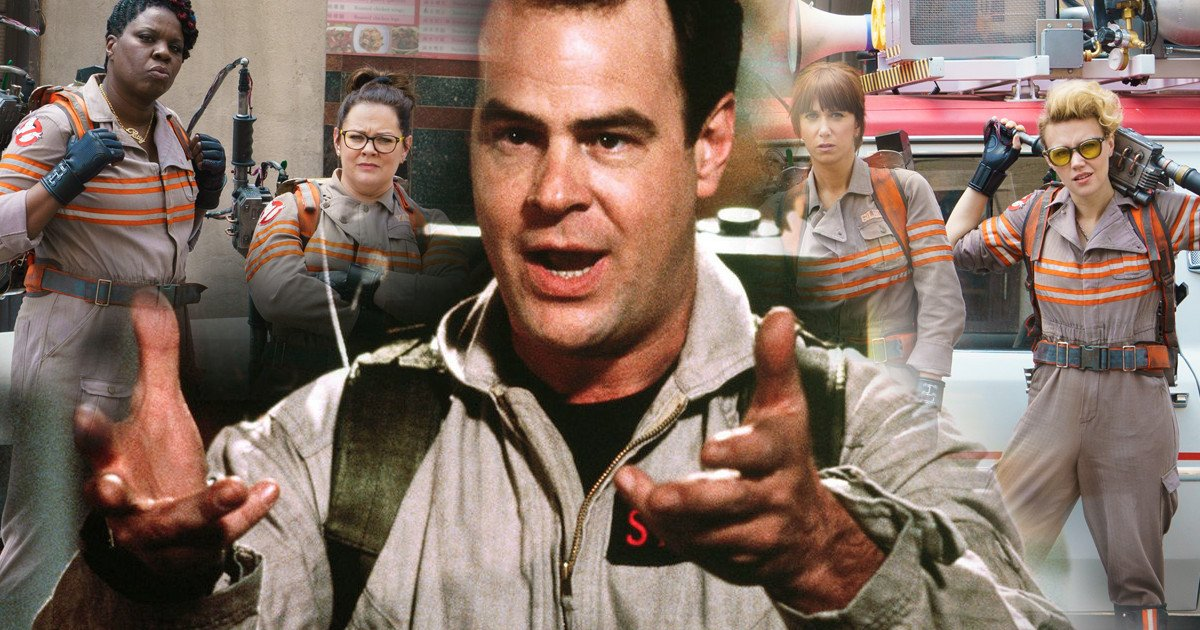 Paul Feig Booted From Ghostbusters Movies Says Dan Aykroyd