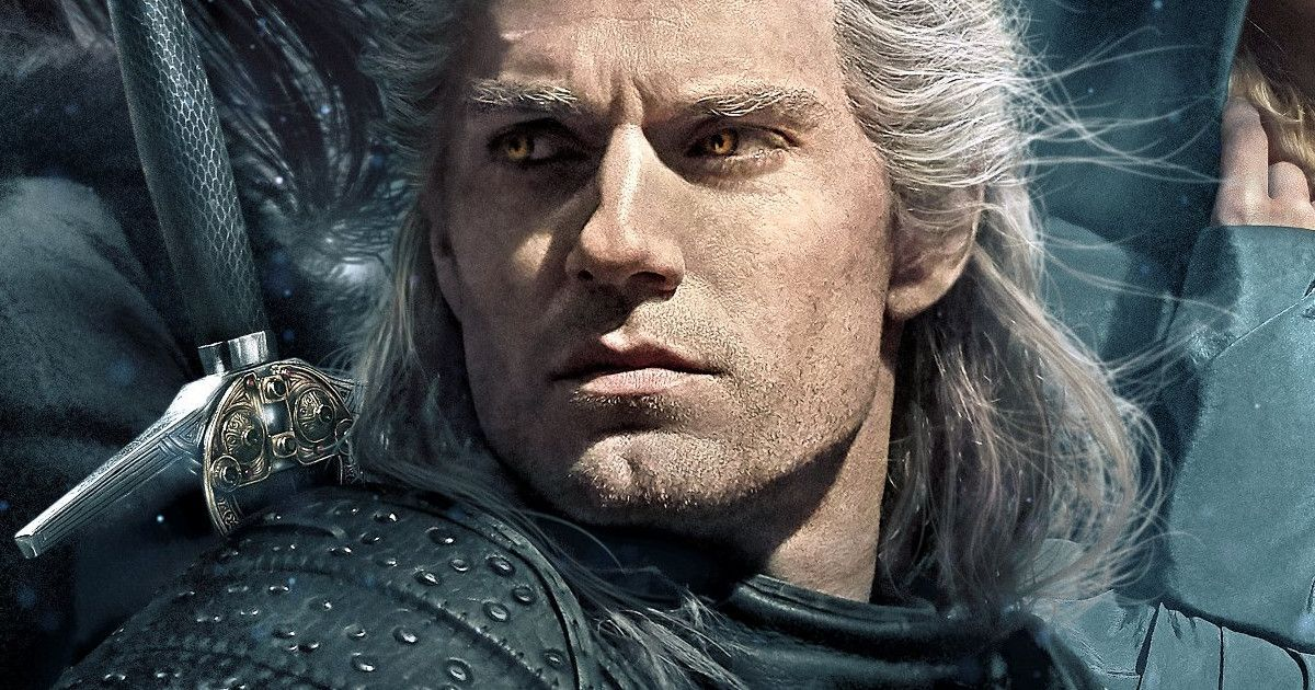 Henry Cavill Shows Off The Witcher Poster And Men S Health