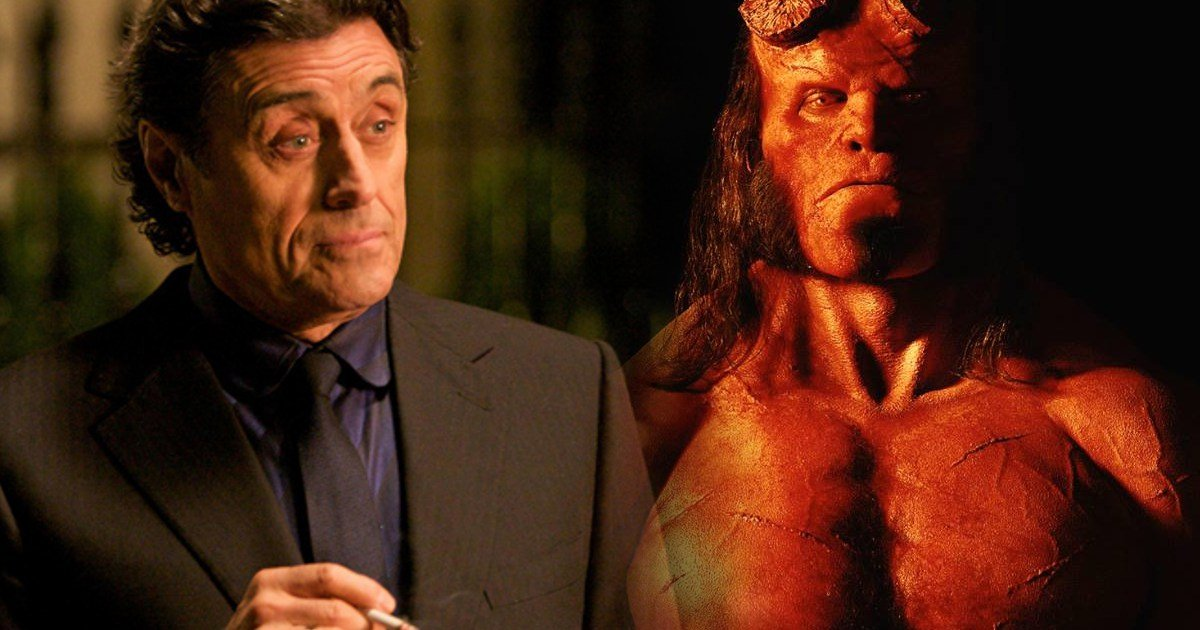Ian McShane Talks Hellboy Reboot