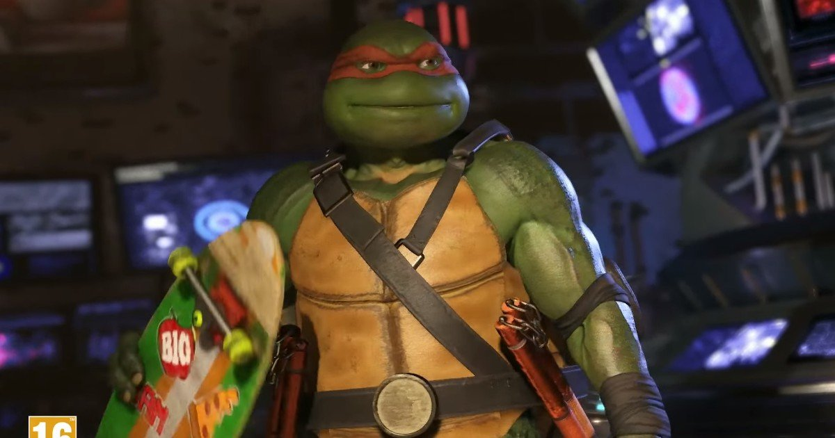 Injustice 2: Teenage Mutant Ninja Turtles Trailer