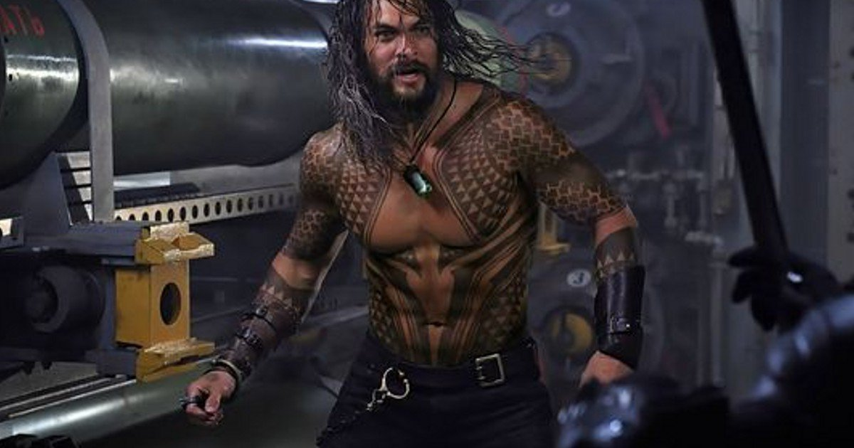 New Jason Momoa Aquaman Movie Image