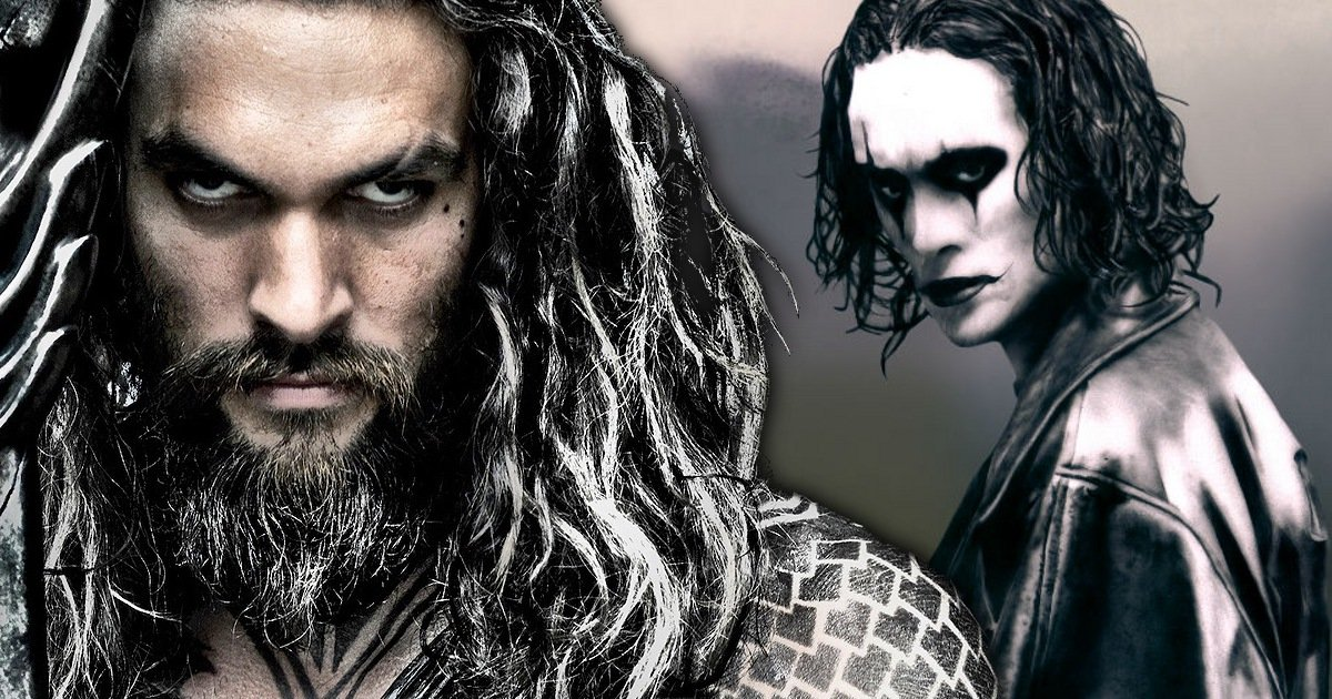 Aquaman's Jason Momoa Starring In The Crow Reboot
