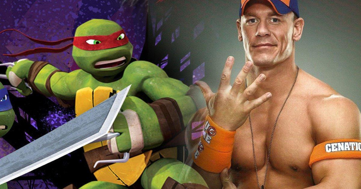 John Cena Voicing Character In Teenage Mutant Ninja Turtles