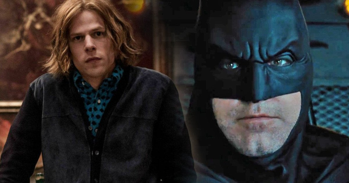 Jesse Eisenberg Lex Luthor Rumored Cut From Justice League