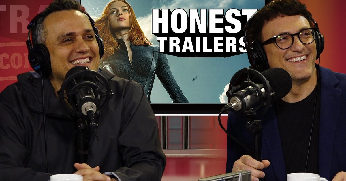 Watch: Russo Brothers React To Captain America: Winter Soldier Honest Trailer